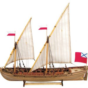 Double Boat Model Kit - Master Korabel (MK0201)