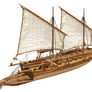 Cannon Jolle 1801 Model Boat Kit - Master Korabel (MK0202)