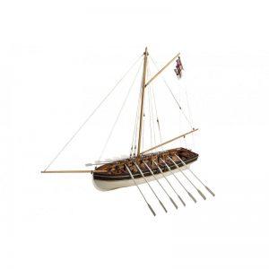 HMS Agamemnon Captain Nelson's Launch Model Ship Kit - Disar (20131)