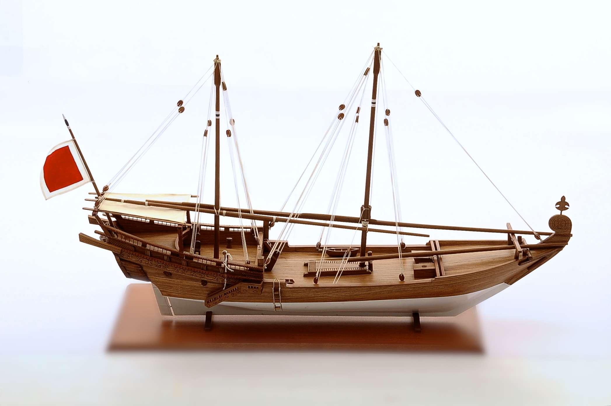 1470-4269-Al-Baghla-Model-Boat