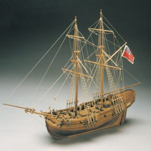 1585-9282-HMS-Shine-1712-Cutter-Model-Kit
