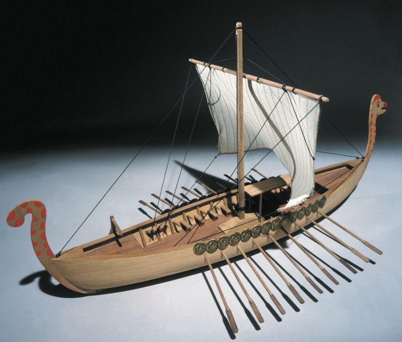 Viking Ship Model Kit - Mantua Models (780)