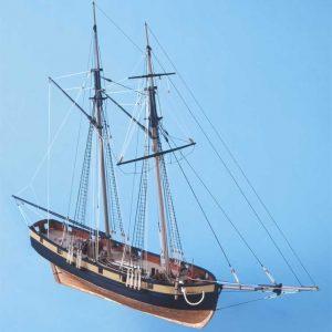 1730-9783-HM-Schooner-Pickle-Wooden-Boat-Kit