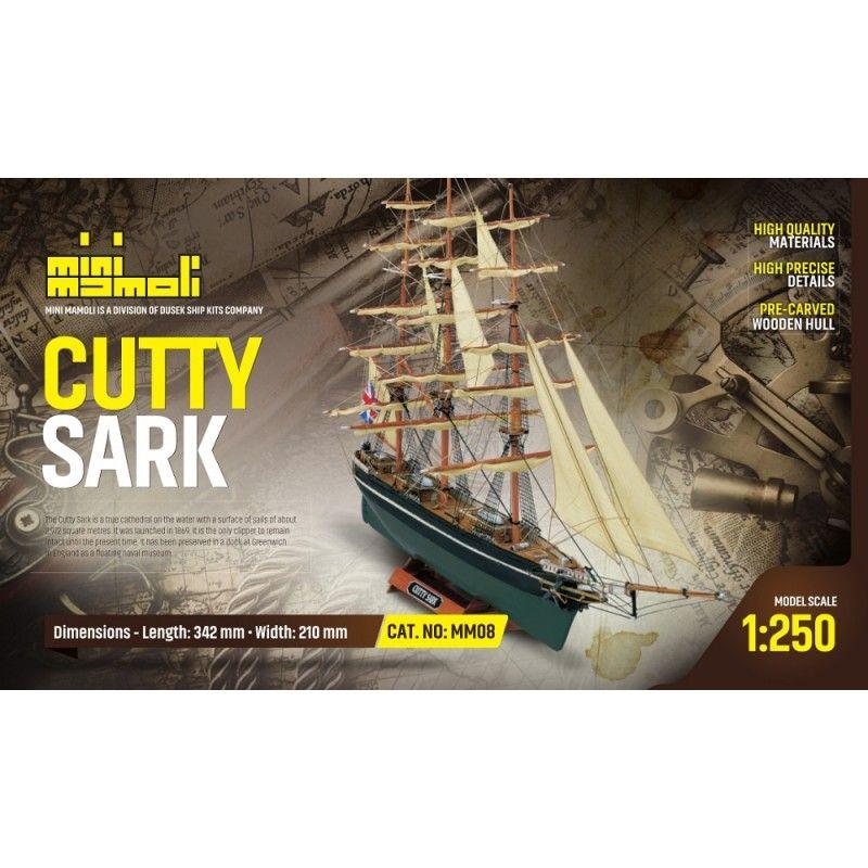 2103-12690-Cutty-Sark-Model-Boat-Kit-Mini-Mamoli-MM08