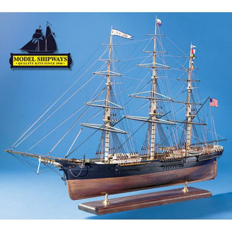 2120-12708-Flying-Fish-Ship-Model-Kit-Model-Shipways-MS2018
