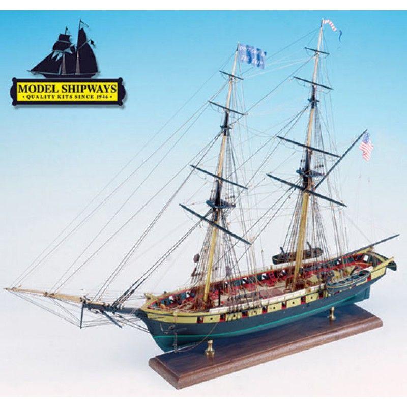 Niagara US Brig (1813) Kit - Model Shipways (MS2240)