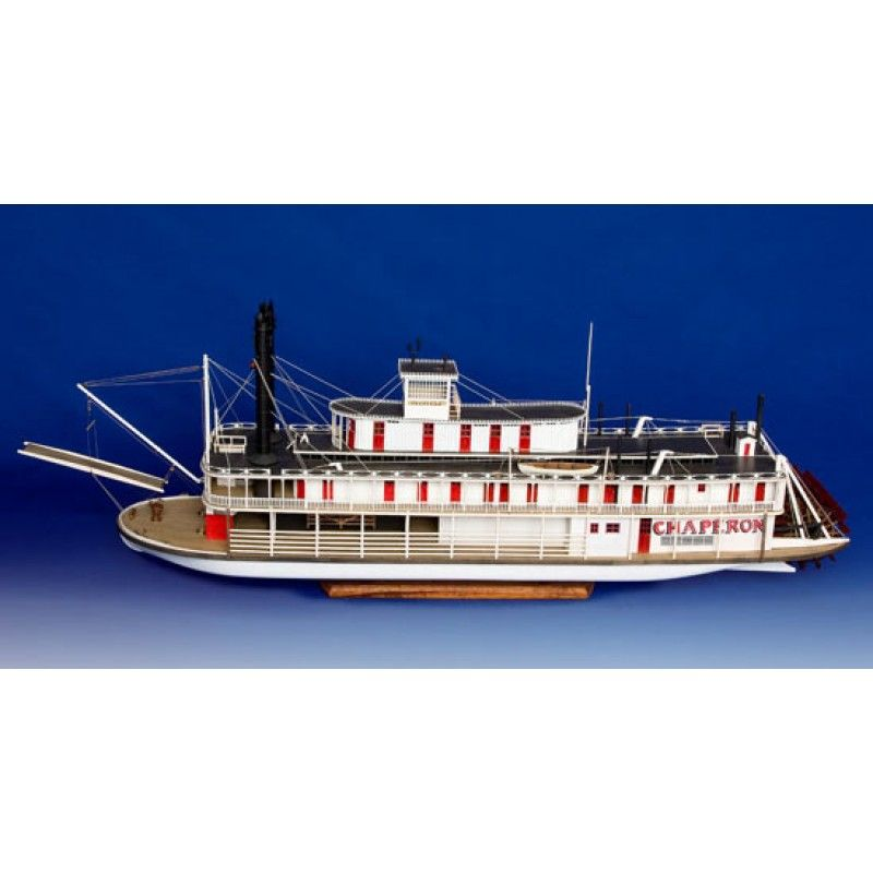 2131-12719-Chaperon-Sternwheel-Steam-Packet-1884-Boat-Kit-Model-Shipways-MS2190