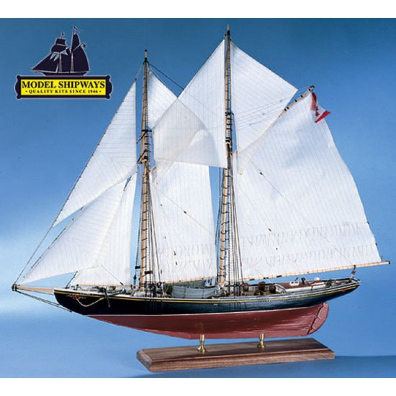 2136-12738-Bluenose-Canadian-Schooner-Kit-Model-Shipways-MS2130