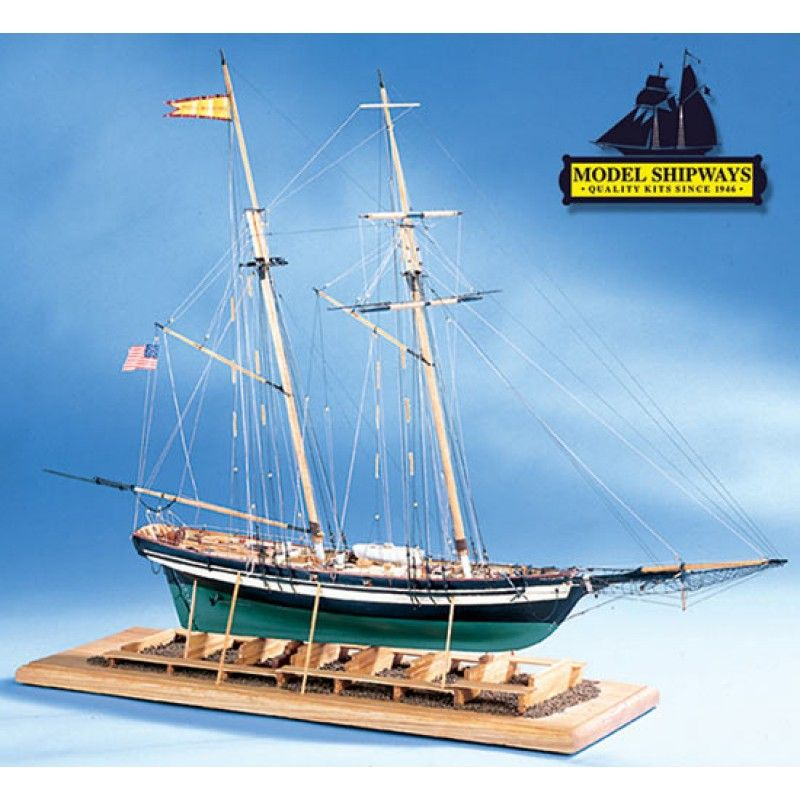 Pride of Baltimore II Ship Kit - Model Shipways (MS2120)