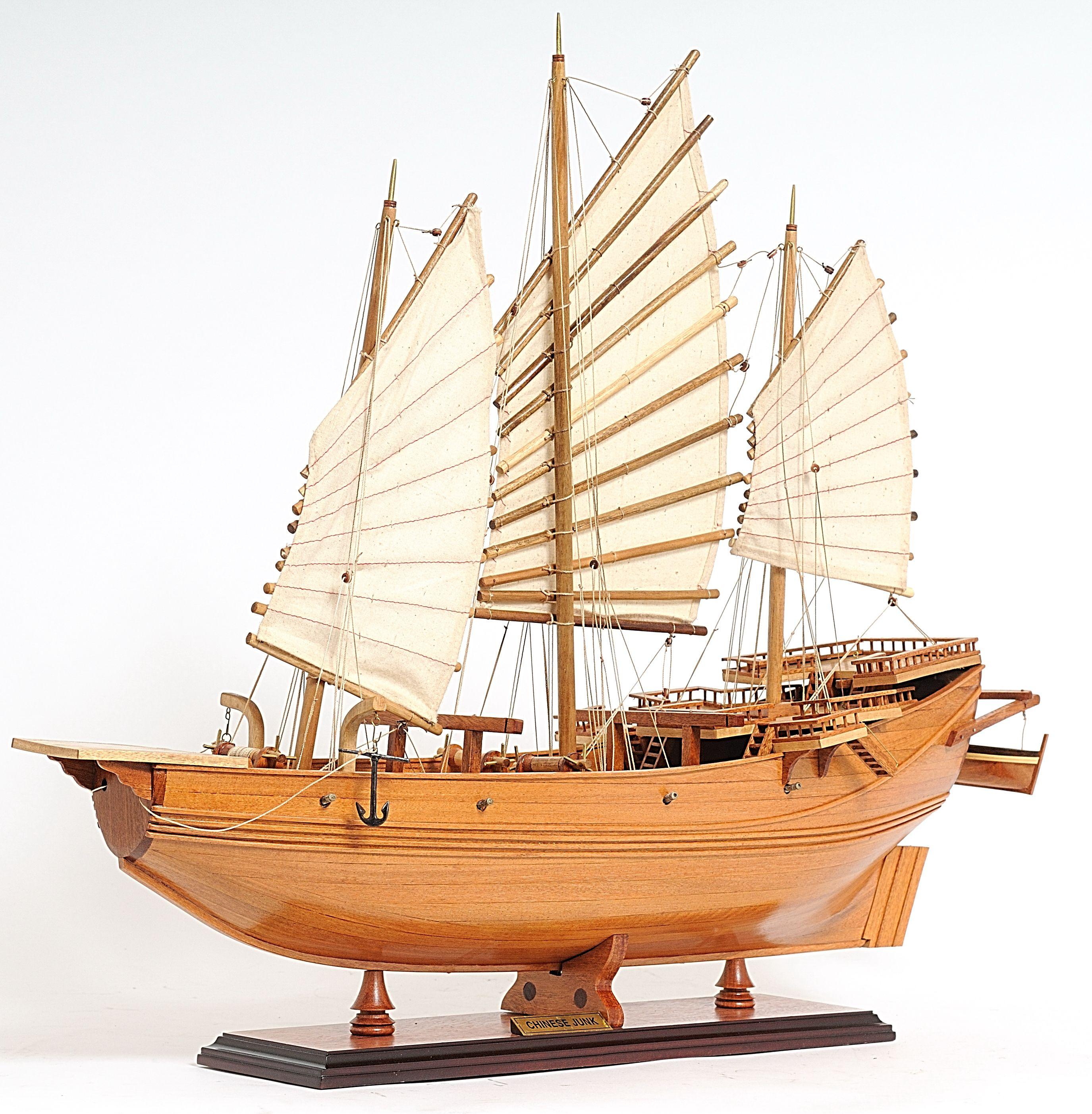 2238-13040-Chinese-Pirate-Junk-Model-Ship