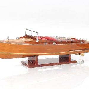 2255-13084-Runabout-Wooden-Model-Ship-Small