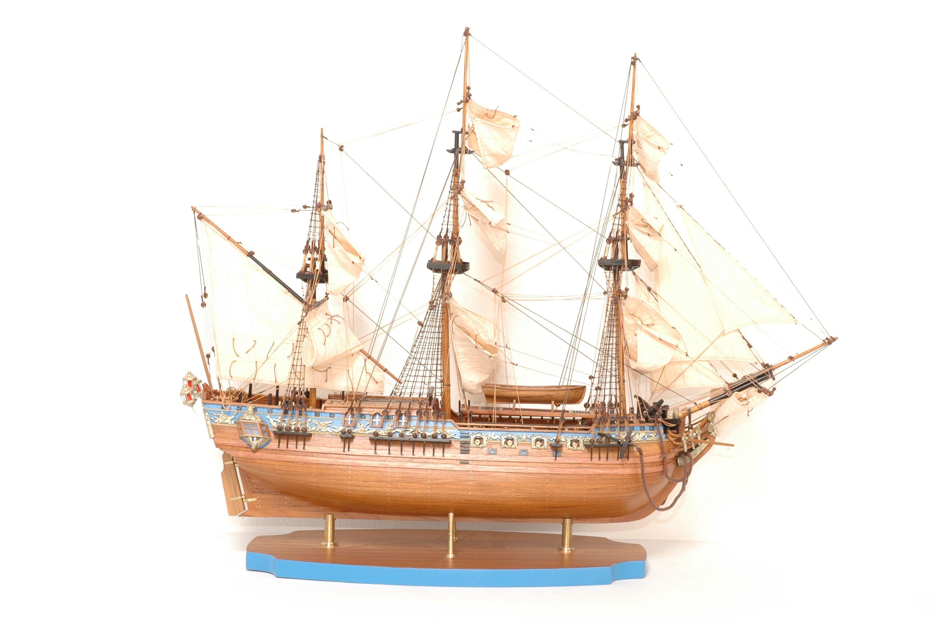 149-8199-Royal-Caroline-Ship-Model-Superior-Range
