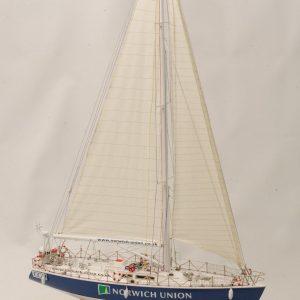 Norwich Union model yacht