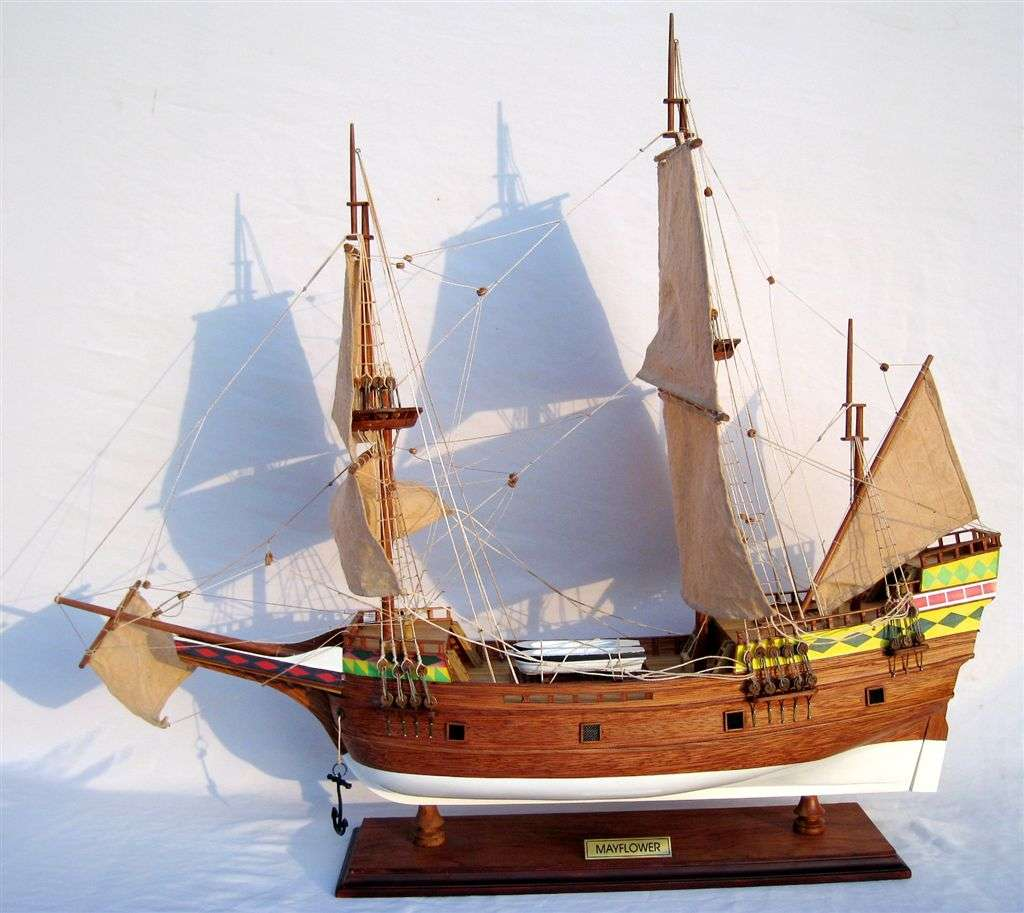 277-4438-Mayflower-Model-Ship-Standard-Range