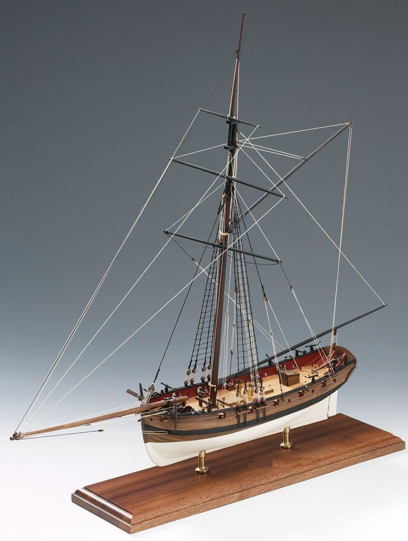 Lady Nelson Ship Model Boat Kit Victory Models 1300 01