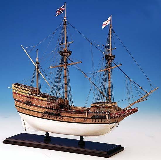 363-7934-Mayflower-Model-Ship-Kit