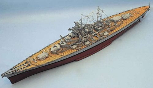 Tirpitz Model Boat Kit Aeronaut Including fittings (AN3619/00)