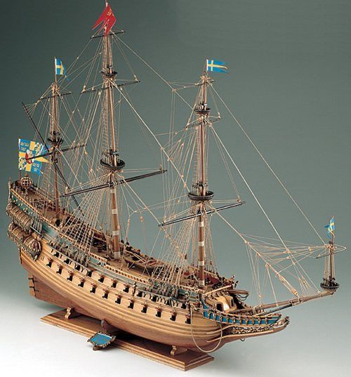 394-8014-Wasa-Ship-Model-Kit