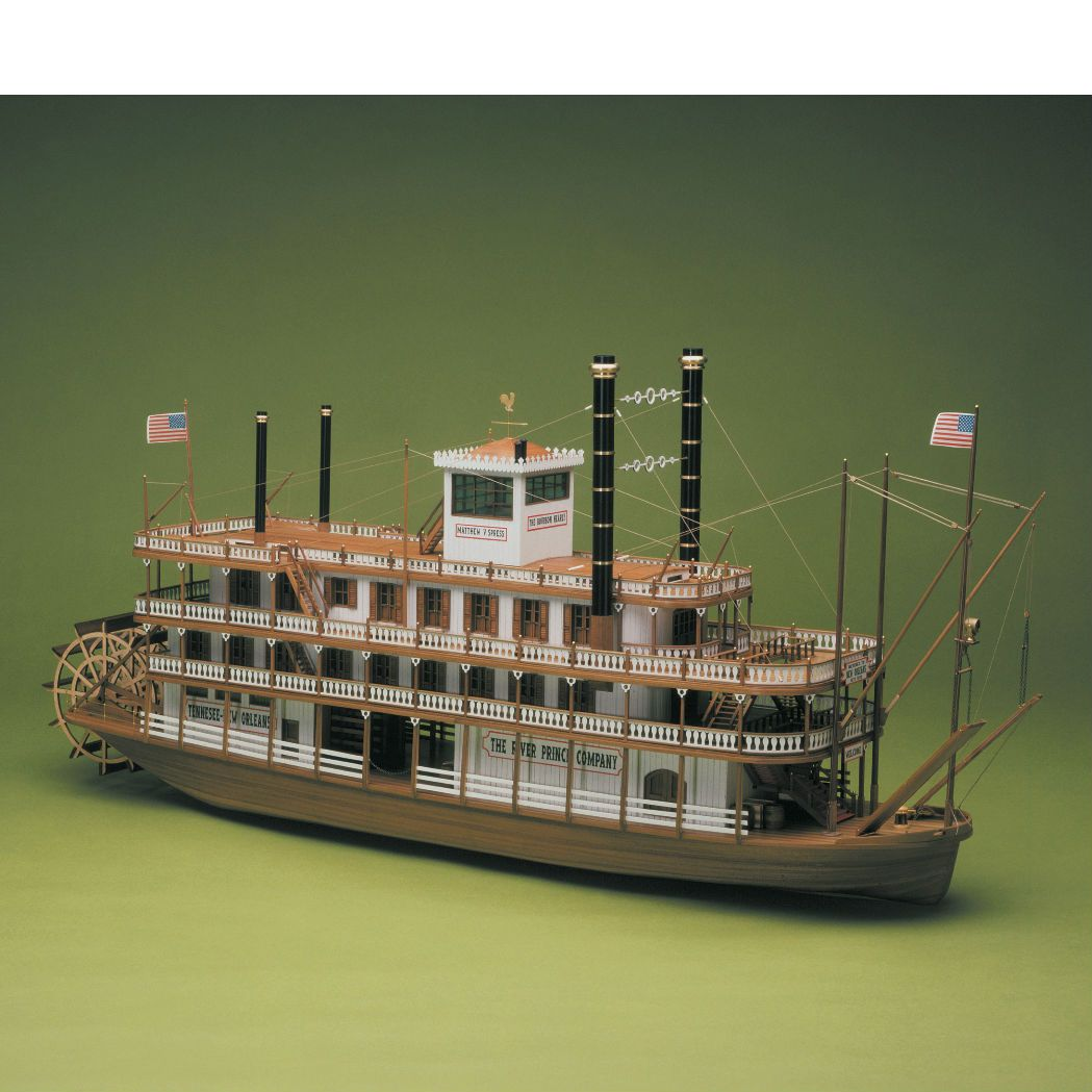 Mississippi Model Boat Kit - Sergal (734)