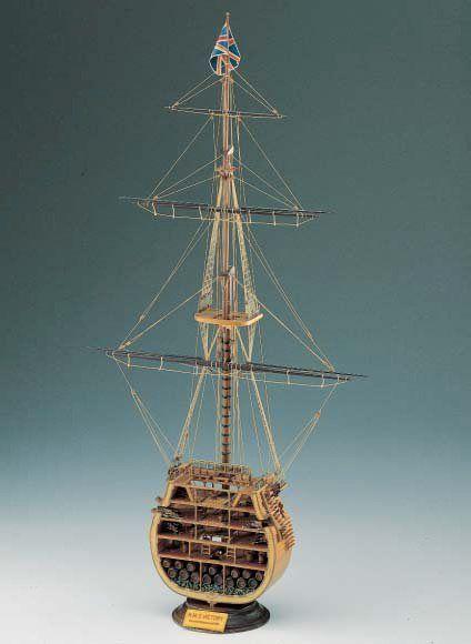 423-8007-HMS-Victory-Cross-Section-Ship-Model-Kit