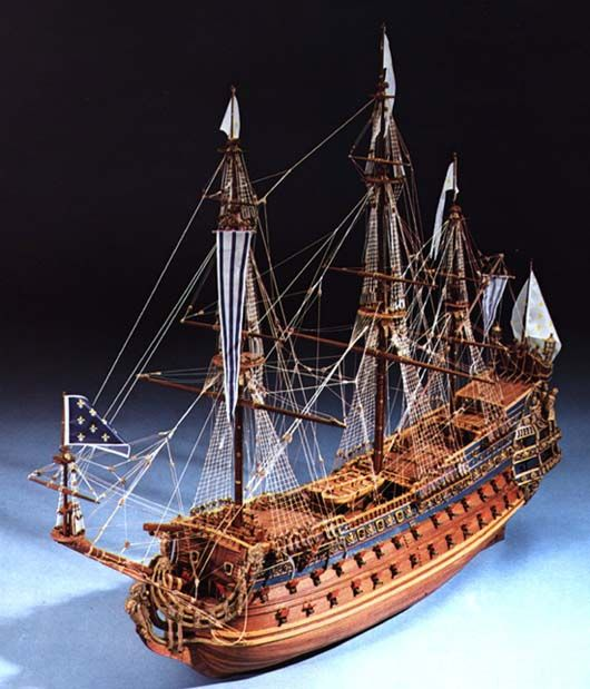 436-8046-Soleil-Royal-Model-Ship-Kit
