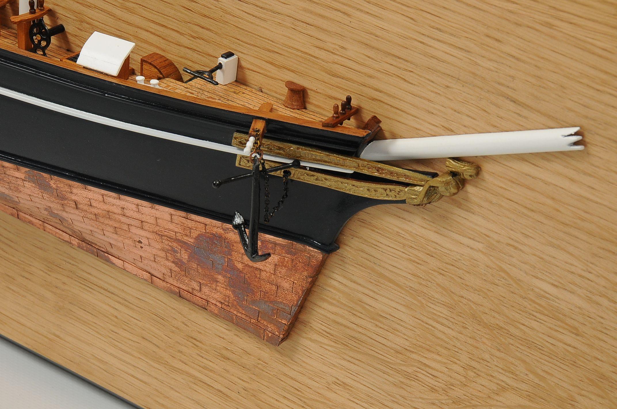 1077-6240-Half-Model-Cutty-Sark-Superior-Range