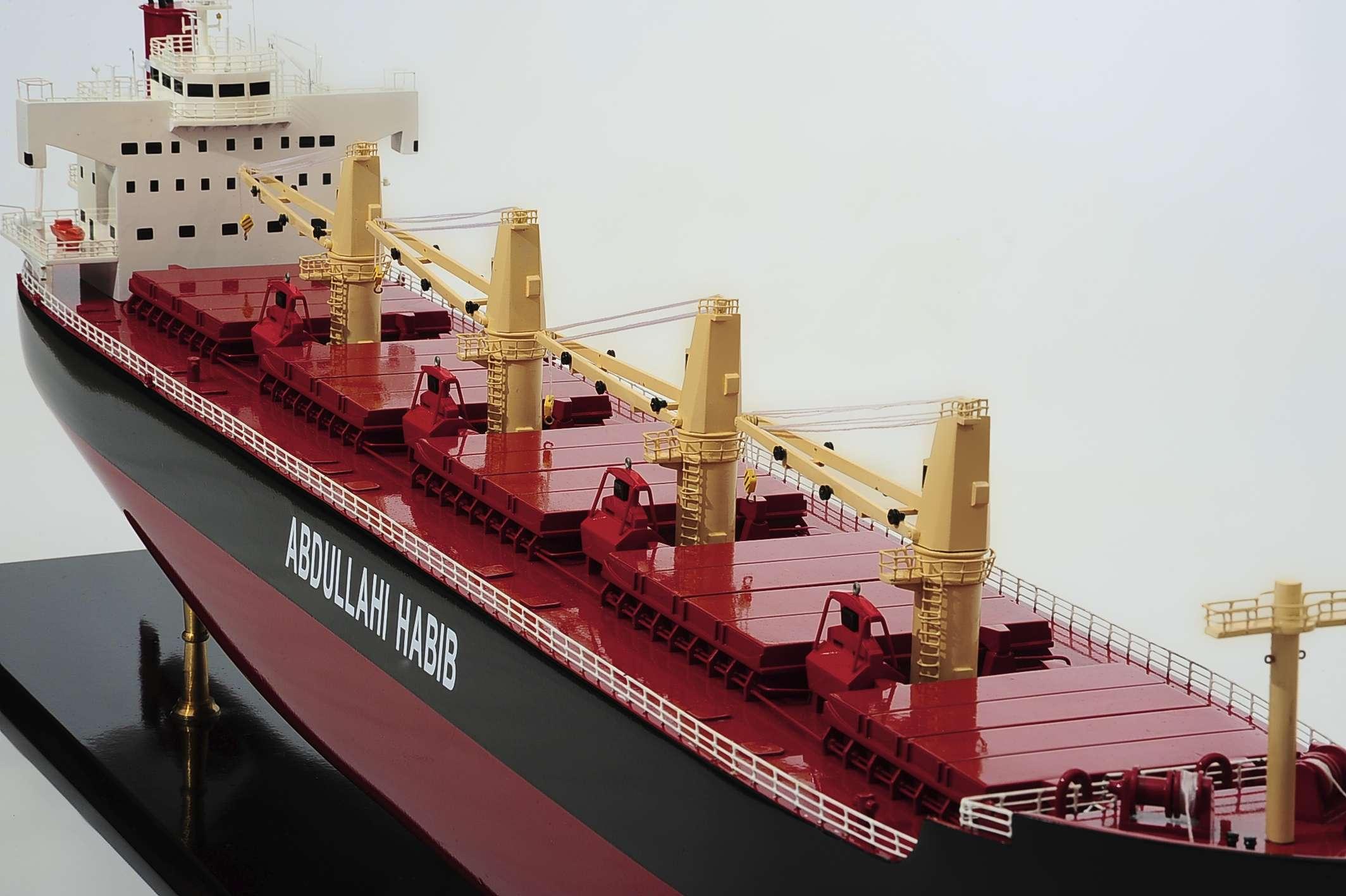 1386-4491-Bulk-Carrier-Model-Ship