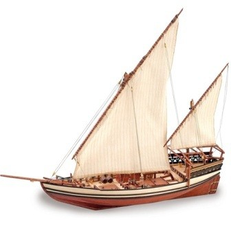 1896-Sultan-Arab-Dhow-Model-Boat-Kit-Artesania-latina-22165