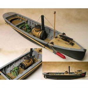 USN Picket Boat No.1 (1864) Kit - Model Shipways (MS2261)