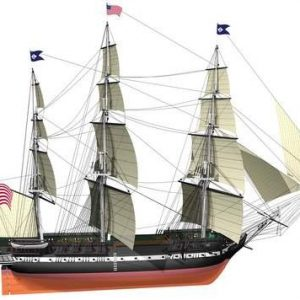 USS Constitution Model Ship Kit - Billing Boats (B508)