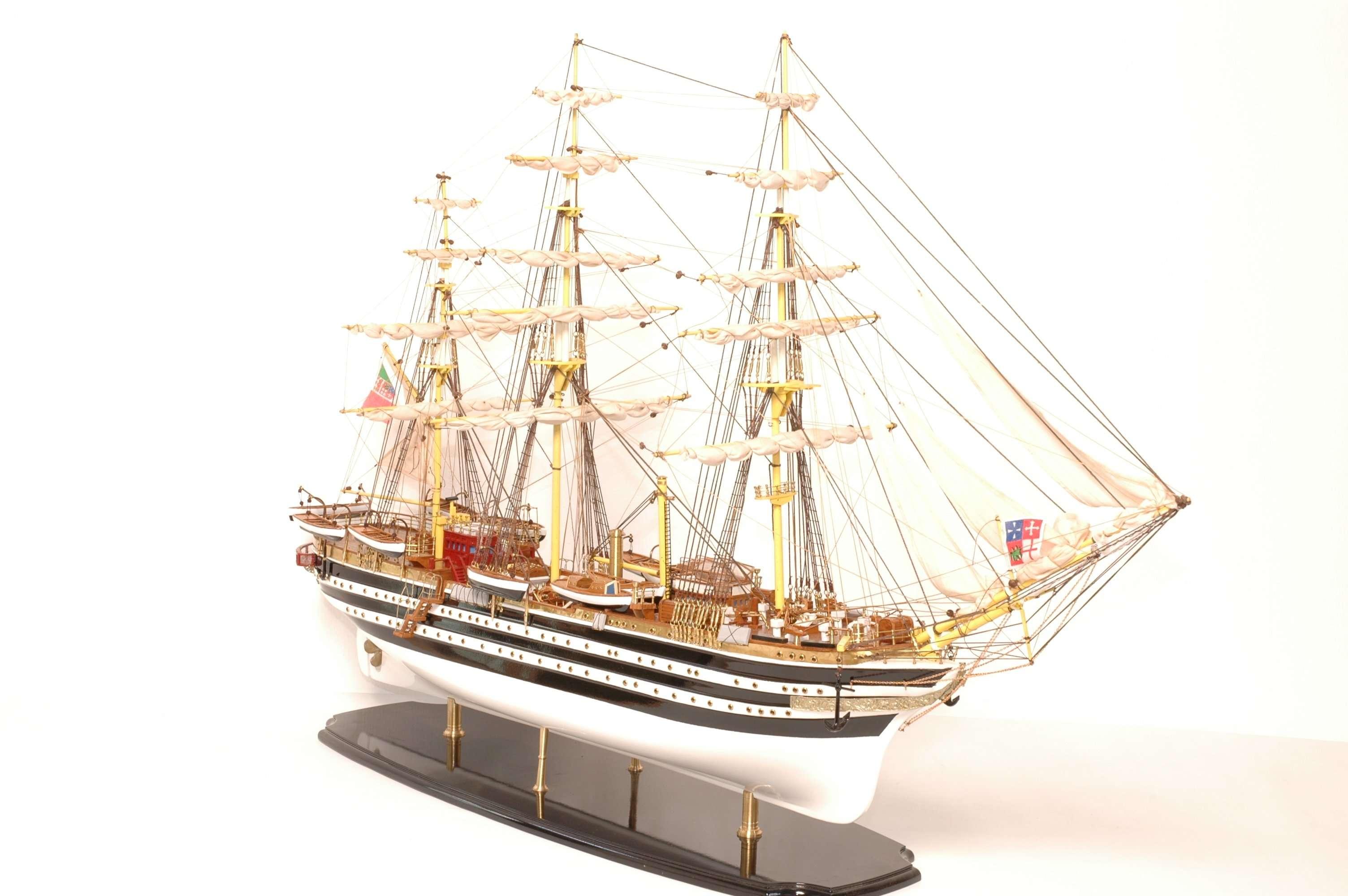 498-4211-Amerigo-Vespucci-Model-Ship-Superior-Range