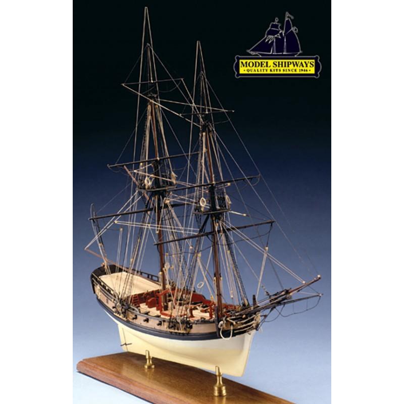 Fair America War Brig (1789) Model Boat Kit - Model Shipways (MS2015)