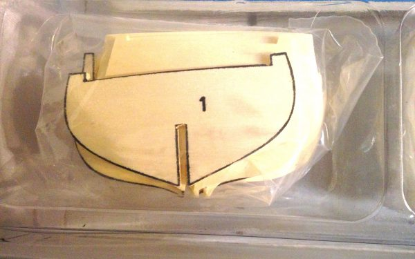 Leida Model Boat Kit - Corel (SM57)