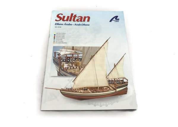 1121-13682-Sultan-Arab-Dhow-Model-Boat-Kit-Artesania-latina-22165