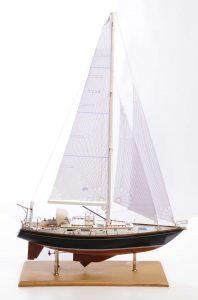 Indigo Moth Model Yacht