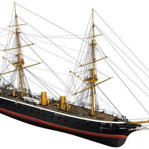 HMS Warrior Model Ship Kit - Billing Boats (B512)
