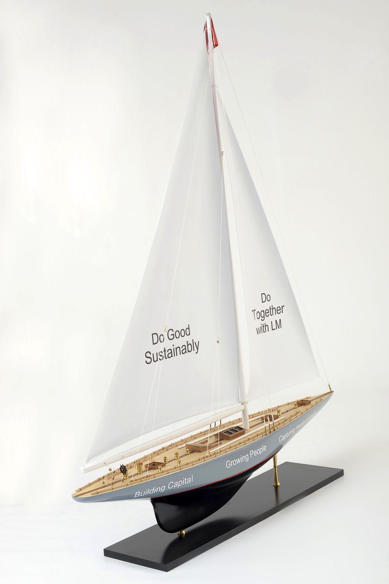 Enterprise Model Yacht