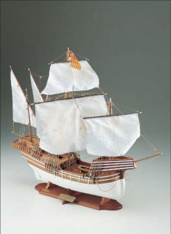 Cocca Veneta Historical Model Ship Kit - Corel (SM30)