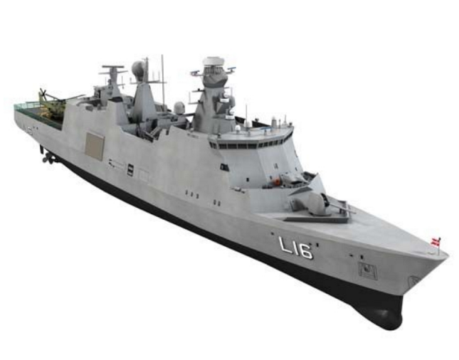 Absalon Modern Military Model Boat Kit - Billing Boats (B500)