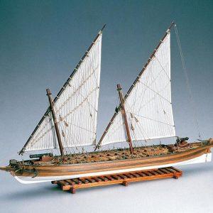 Arrow Gunship Model Ship Kit - Amati (1422)
