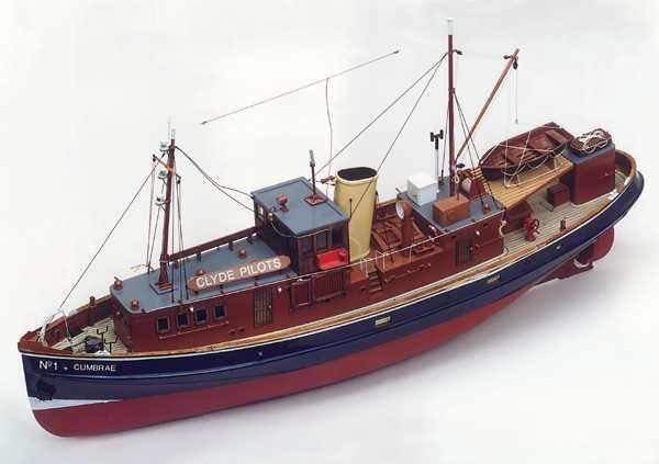 Cumbrae Clyde Pilot Boat Kit - Caldercraft (7009)