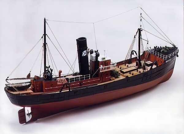 1706-9645-Milford-Star-Side-Trawler-Model-Boat-Kit