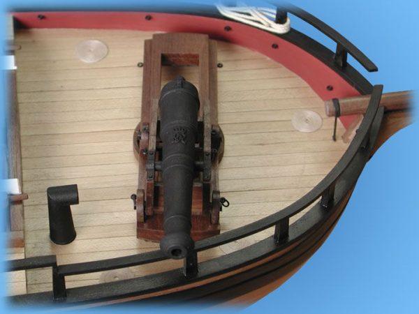HM Gunboat William Model Ship Kit - Caldercraft (9016)