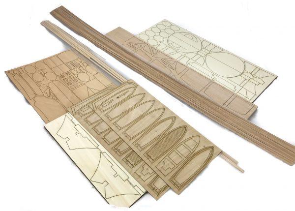 Gulnara Wooden Model Ship Kit - Krick (K20250)