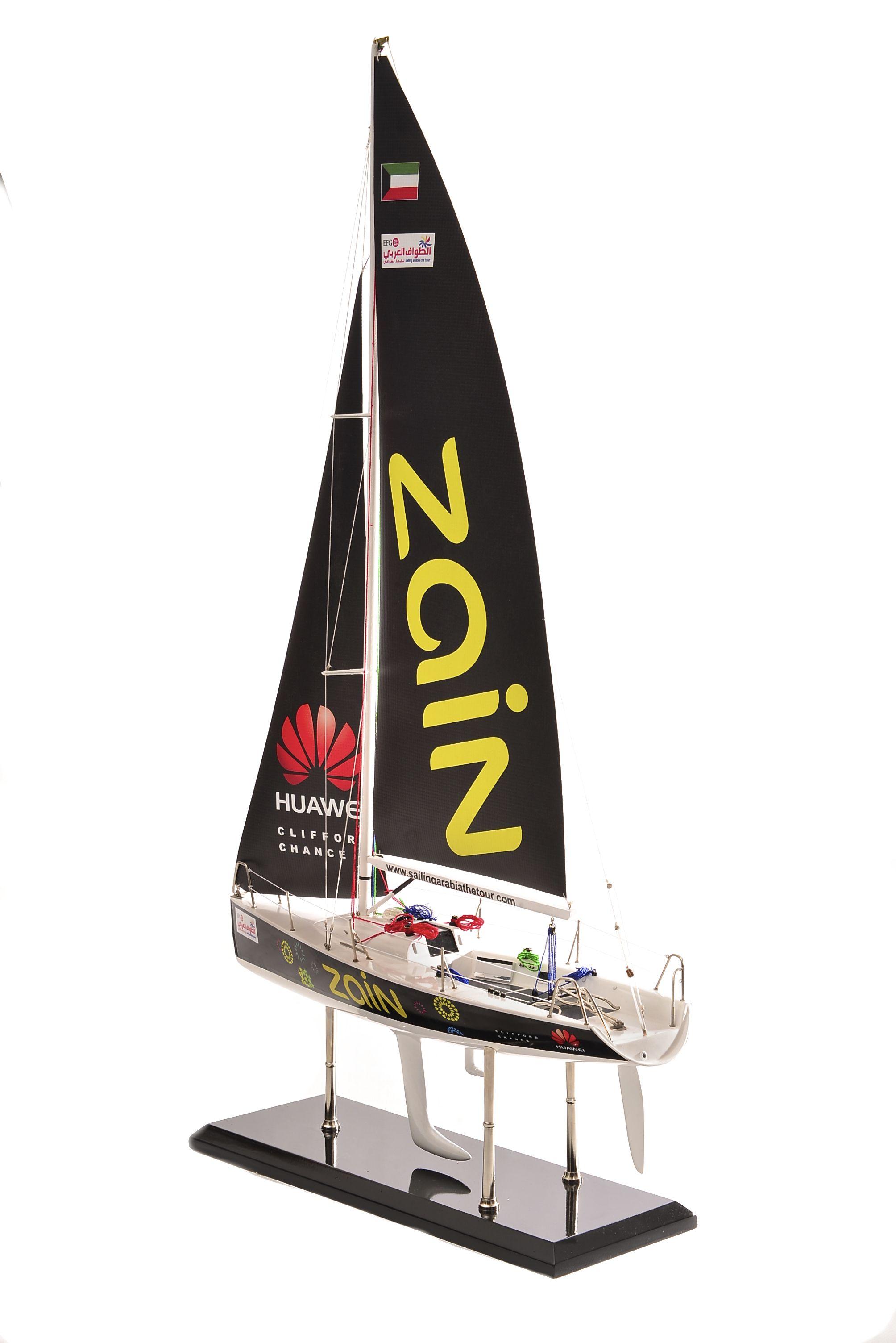 1801-10528-Farr-Racing-Yacht-Custom-Model