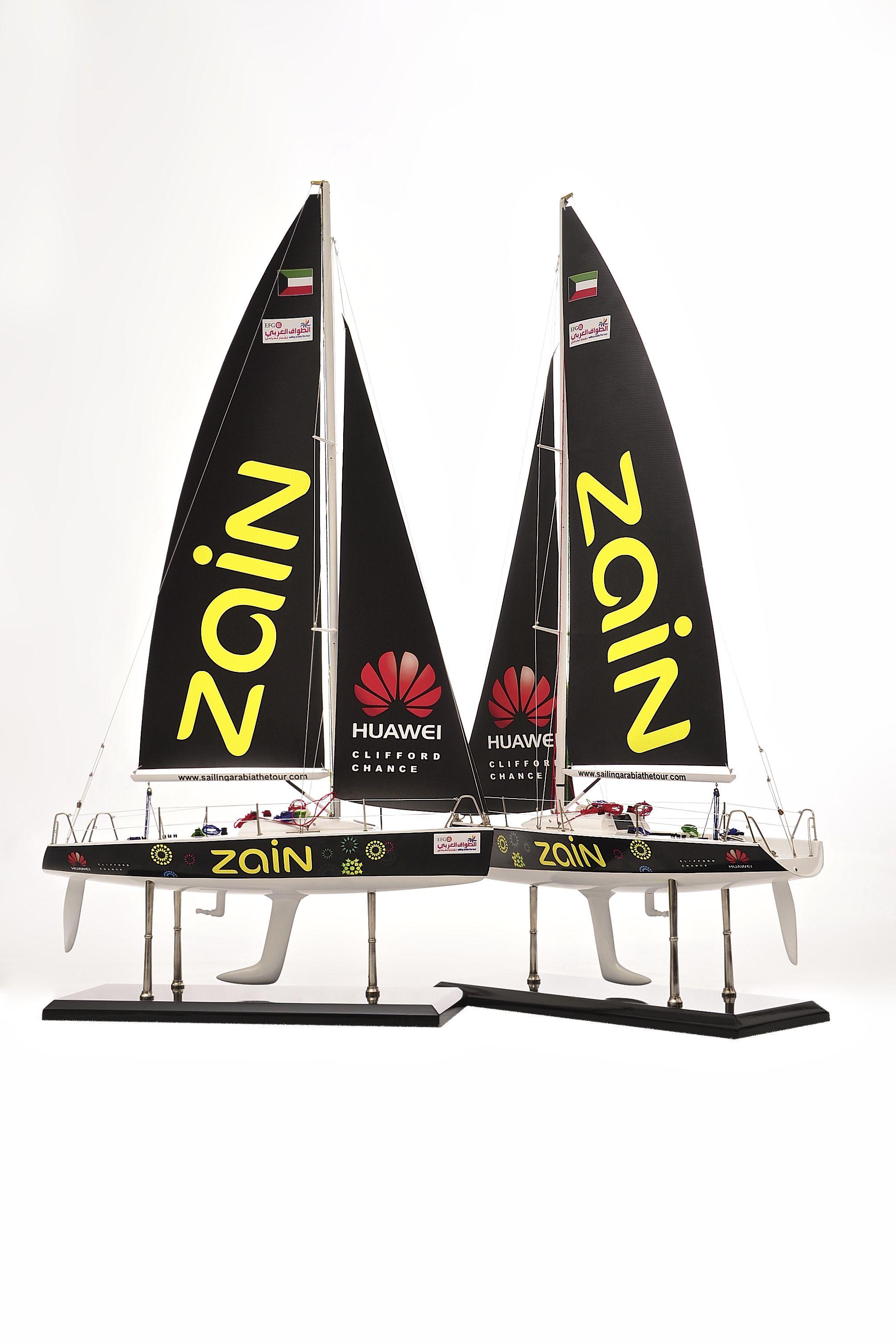1801-10549-Farr-Racing-Yacht-Custom-Model