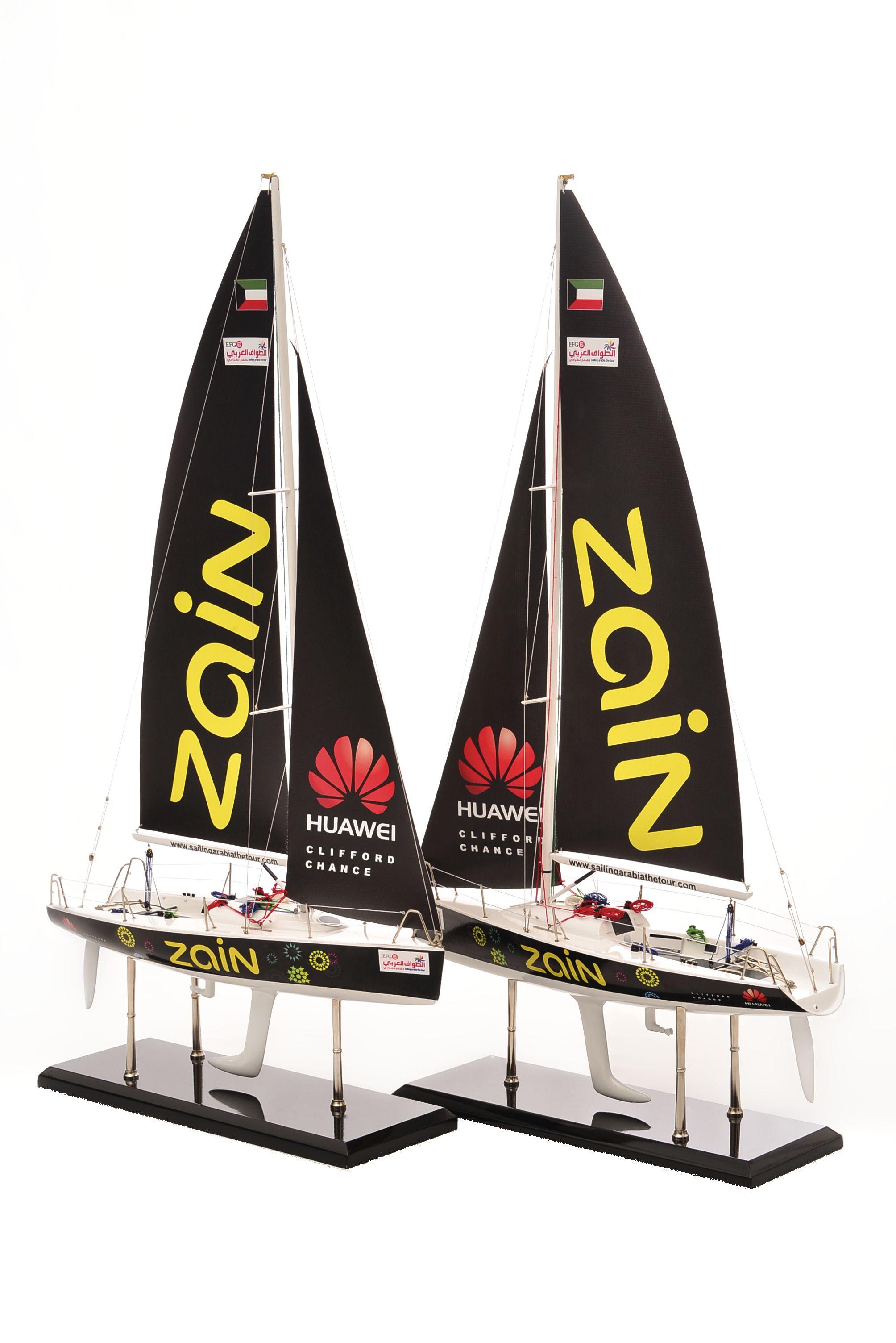1801-10550-Farr-Racing-Yacht-Custom-Model