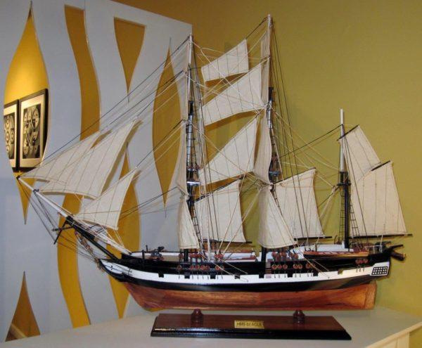 1824-10701-HMS-Beagle-Model-Ship-Standard-Range