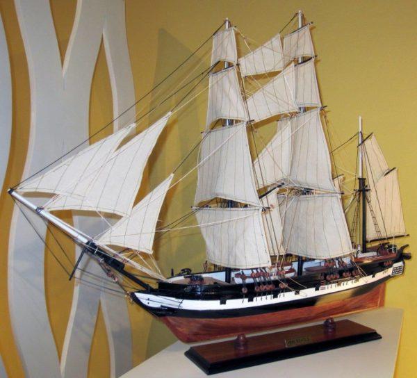 1824-10702-HMS-Beagle-Model-Ship-Standard-Range