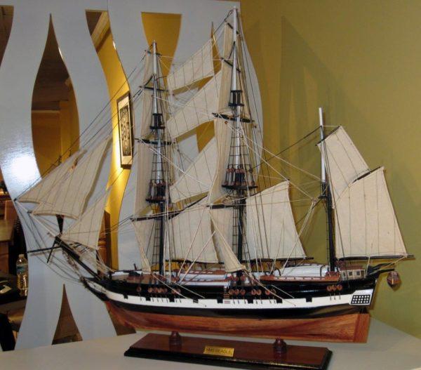1824-10703-HMS-Beagle-Model-Ship-Standard-Range
